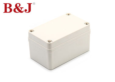 China IP68 ABS Electrical Enclosure Heat Resistant Effectively Prevent Electric Leakage supplier