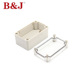 China Dustproof PC Plastic Electrical Enclosure Boxes , Plastic Waterproof Enclosures For Electronics supplier