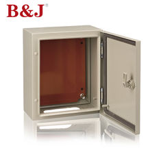 China Outdoor Metal Electronics Enclosure Box Wall Mounted 1.2mm / 1.5mm Thickness supplier