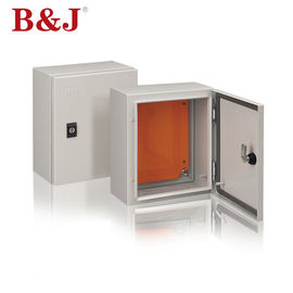 China Black Plastic Lock IP Rated Metal Enclosures Epoxy Polyester Coating Paint Finish supplier