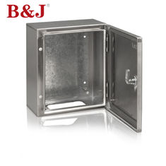 China Dust Proof Custom Stainless Steel Electrical Junction Boxes Easy Cleaning With Zinc Alloy Lock supplier