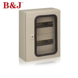 China Modular Chassis Wall Mounted Electrical Cabinet IP66 With Transparent Door supplier