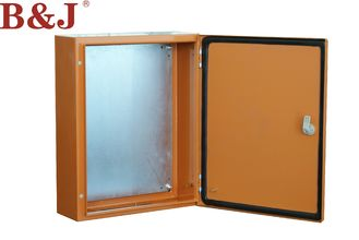 China Compact Metal Electrical Enclosure Box , Metal Enclosures With Hinged Door supplier