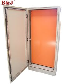 China 3 - Point Lock Industrial Electrical Enclosures , Floor Standing Electrical Enclosures supplier