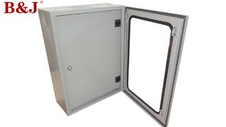 China Mild Steel Metal Electrical Enclosure Box , IP66 Wall Mount Metal Enclosure supplier