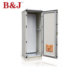 China 120° Door Opening Free Standing Electrical Enclosures , Outdoor Switch Box Enclosure supplier