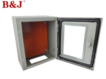 China Steel Sheet Wall Mount Electrical Enclosure , Industrial Metal Wall Mount Enclosures supplier