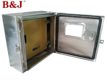 China 1.2 mm / 1.5 mm Stainless Steel Distribution Box With Customized Mounting Plate supplier