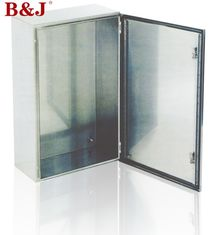 China IP66 Stainless Steel Electrical Enclosure Boxes Full Welded Brushed Finish supplier