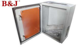 China Single Door Industrial Electrical Cabinet Seams Continuously Welded With Plastic Lock supplier