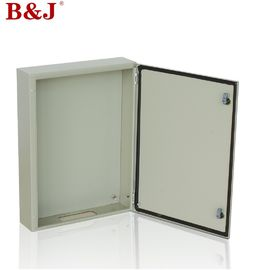 China Metal Sheet Steel Industrial Electrical Enclosures , Industrial Control Enclosure With Bracket supplier