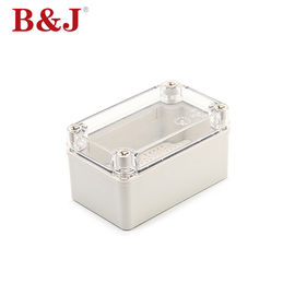 China 80X130X70 Junction Box Junction Enclosure Waterproof Plastic Box IP68 ABS Transparent Box supplier