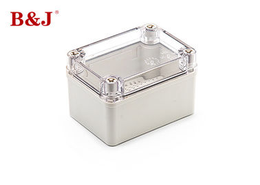 China Grey Waterproof Plastic Junction Box IP66 Excellent Mechanical Performance factory