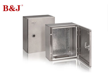 IK10 Stainless Steel Electrical Enclosure Boxes Polished Surface Oil Resistance