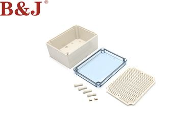 China Outdoor Plastic Electrical Enclosure Boxes , Clear Plastic Enclosures For Electronics factory