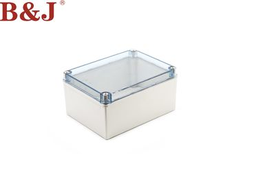 China IP68 Plastic Electrical Enclosure Boxes Screw Type With Transparent Lid factory