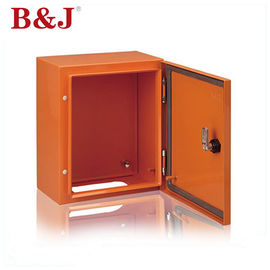 China Custom Color Metal Electrical Enclosure Box , IP66 Outdoor Power Distribution Box factory
