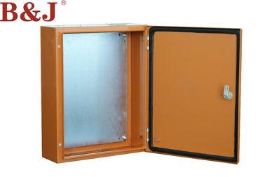 China Compact Metal Electrical Enclosure Box , Metal Enclosures With Hinged Door factory