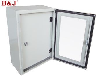 China Transparent Metal Electrical Enclosure Box , Waterproof Electrical Boxes Outdoor factory