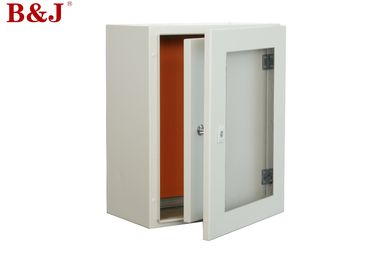 China Double Door Metal Electrical Enclosure Box 400 x 300 x 200 mm Inner Door With Handle Lock factory