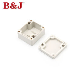 China Light Plastic ABS Industrial Control Panel Enclosure Without Mounting Plate distributor