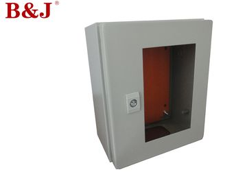 China 1.2 mm Thickness Wall Mount Electrical Enclosure IP66 Epoxy Polyester Painting distributor