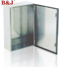 China IP66 Stainless Steel Electrical Enclosure Boxes Full Welded Brushed Finish distributor