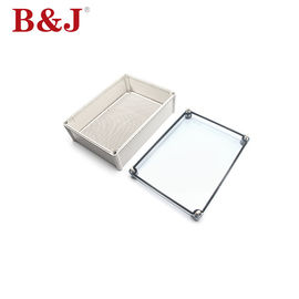 China Screw Type Plastic Electrical Enclosure Boxes , Outdoor Electrical Junction Box Plastic distributor
